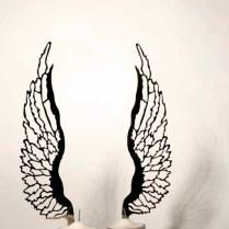 Ken Goldman - Angel Wing shabbat candlesticks