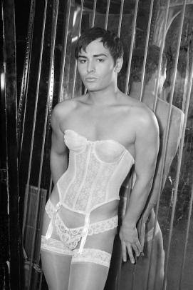 Sacred Corset, NYC, Fred Koenig, gender hybrid, gender fluid, non-gender binary