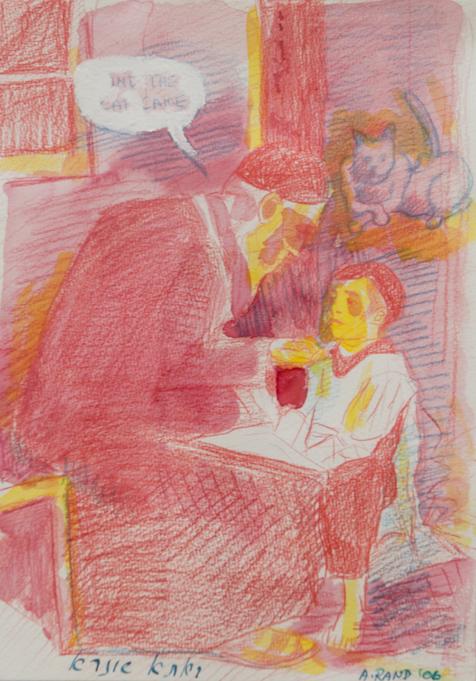 Archie Rand - Pink Sketch-1
