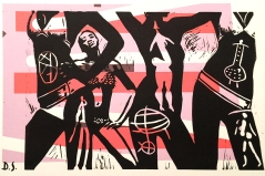 Danielle Siegelbaum bodies, linocut, print 1 - Danielle Siegelbaum.jpg