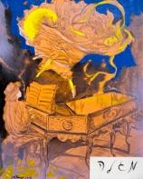 "Archie Rand ""Purim 1"""